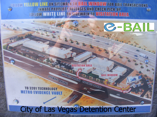 Map - City of Las Vegas Detention Center