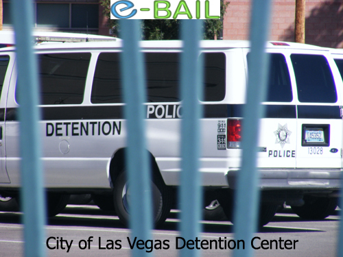 Police Van - City of Las Vegas Detention Center