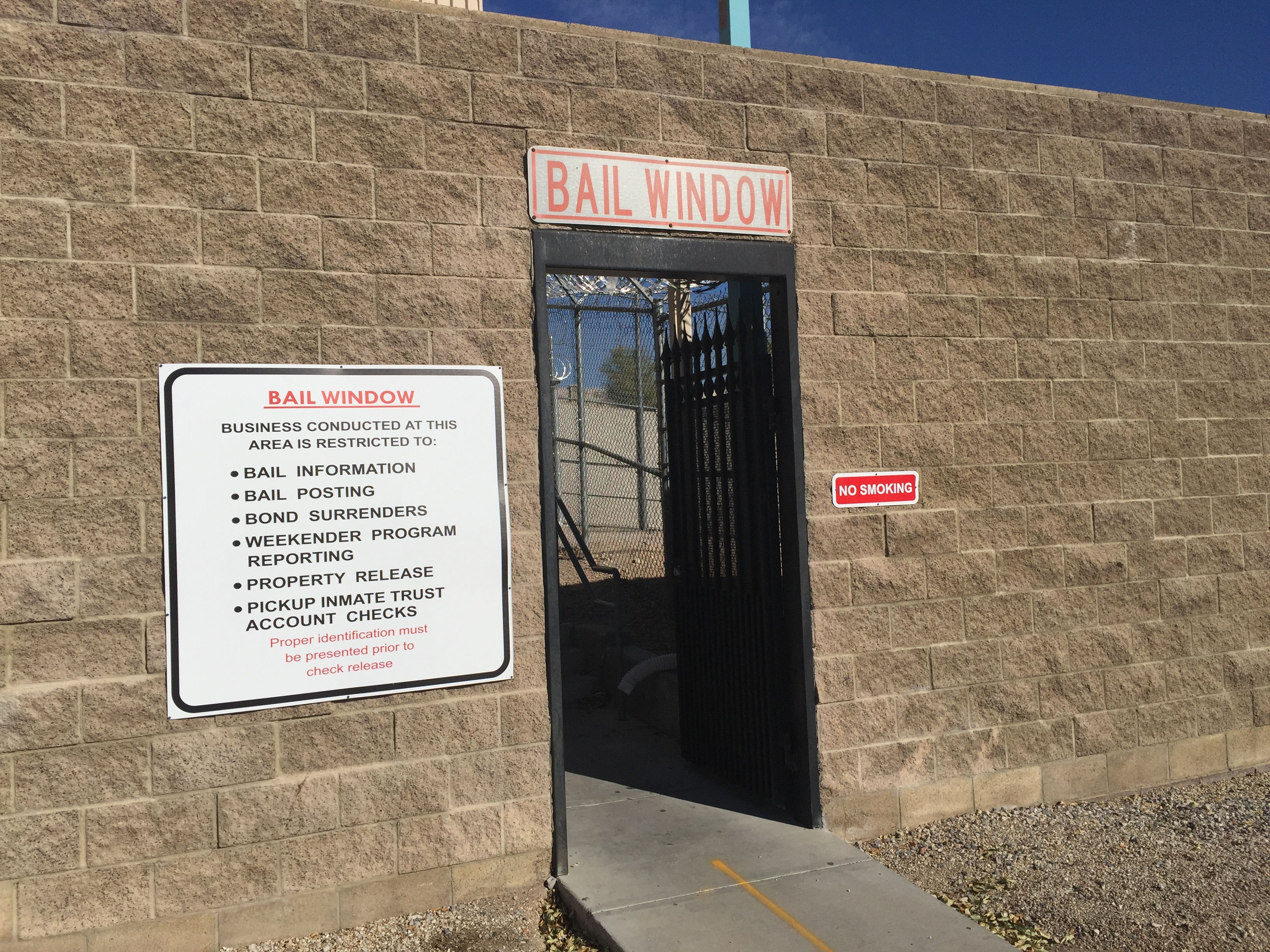 Inmate Policies Las Vegas Detention Center